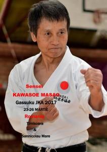 Gasshuku JKA WF Romania 23-26 MARTIE 2017 KAWASOE MASAO SENSEI