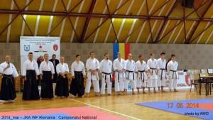 JKA ROMANIA 2014- CAMPIONATUL NATIONAL -PRIMA EDITIE