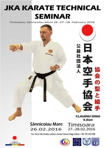 JKA KARATE TECHNICAL SEMINAR