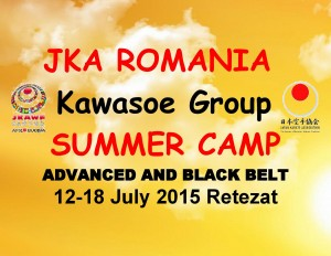 JKA ROMANIA -Kawasoe Grup-Summer Camp 2015