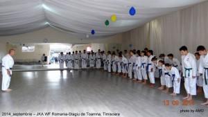 JKA ROMANIA 2014-STAGIUL DE TOAMNA