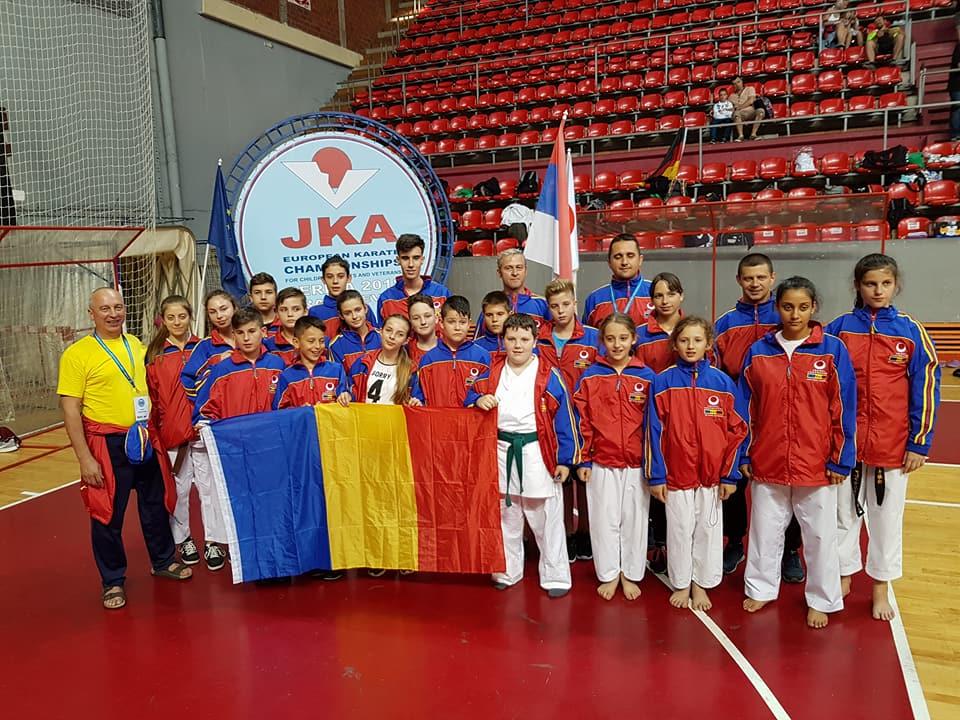 13 th JKA European Championships for children , cadets and veterans 2018