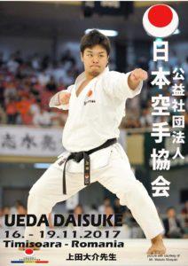 JKA Gasshuku Ueda Daisuke Sensei Timisoara 16-19.11.2017