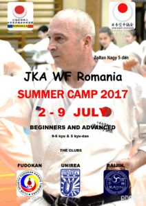 JKA Summer Camp 2017 Romania