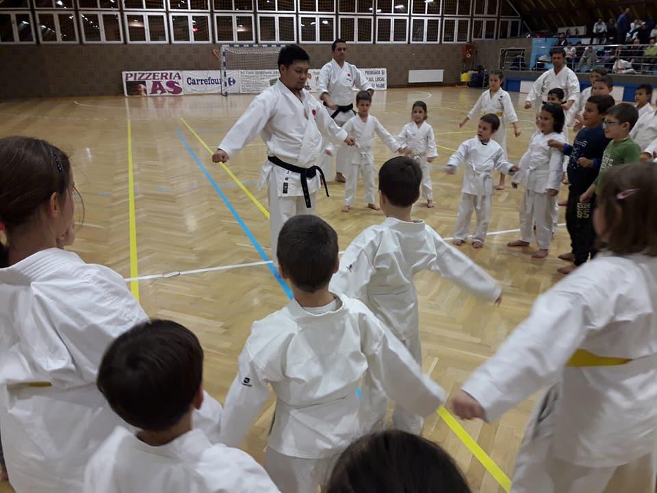 1 St JKA Gasshuku Ueda Daisuke Sensei Timisoara & Sannicolau Mare