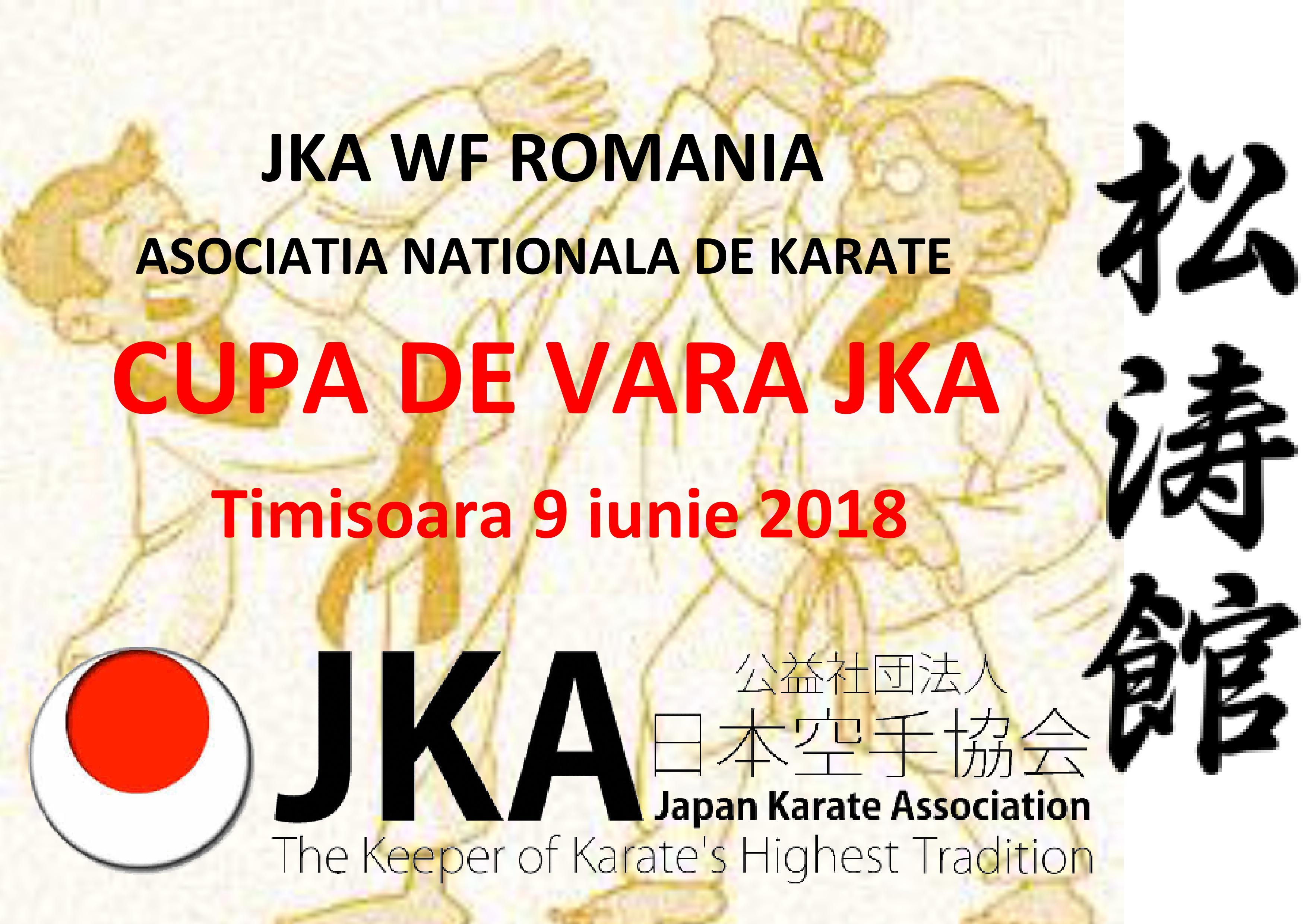 JKA Romania-Cupa de Vara 2018