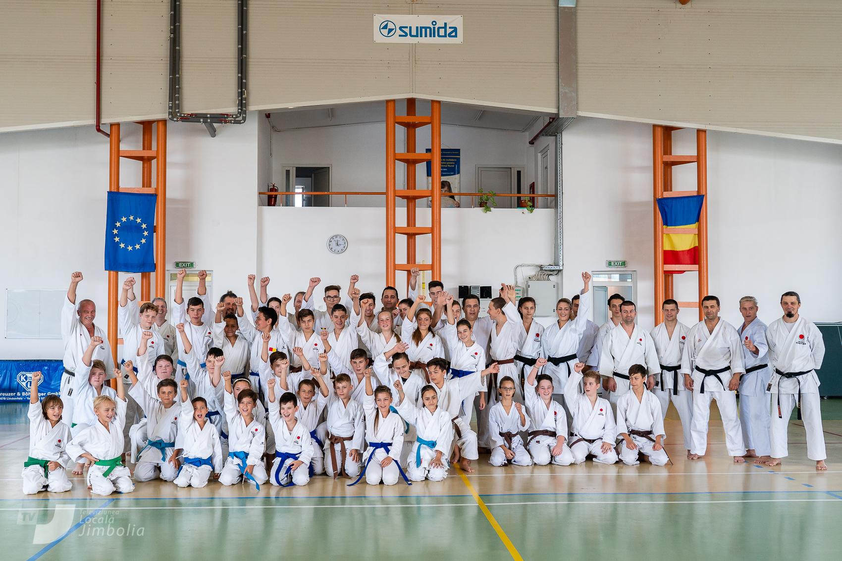 Stagiul de toamna JKA -Jimbolia 29.09.2018