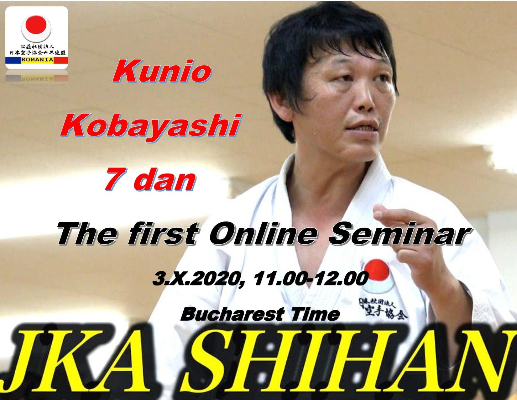 Seminar online Kunio Kobayashi Sensei